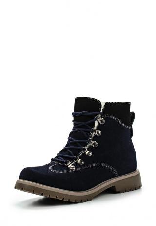 ботинки из замши на шнурках