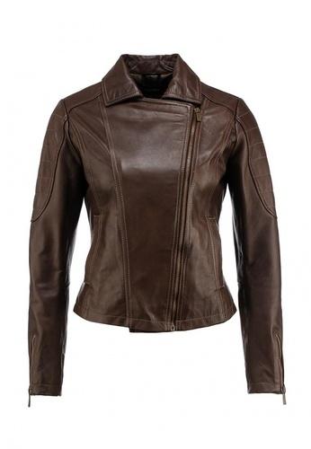 коричневая куртка женская