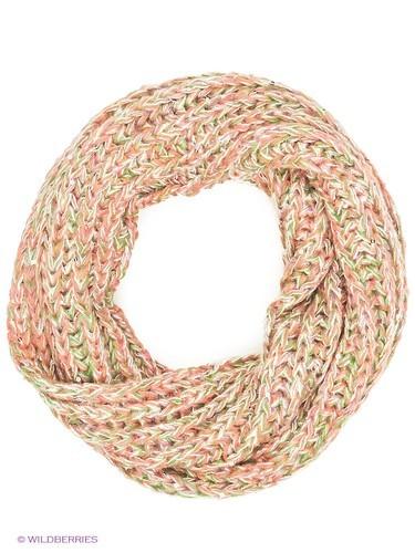 вязаный шарф женский