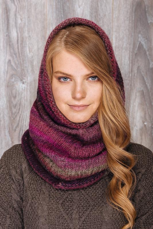 шарф снуд для покрытия головы