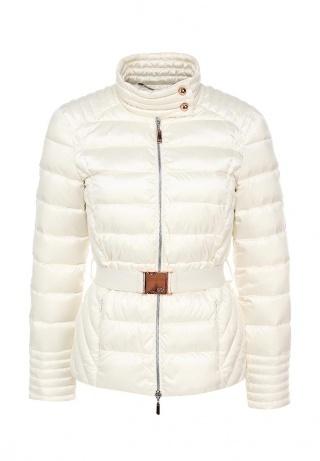 белое пальто воротом