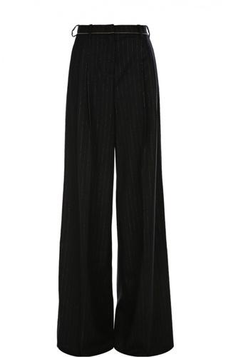 черные брюки широкие