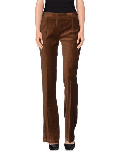 коричневые брюки вельвет