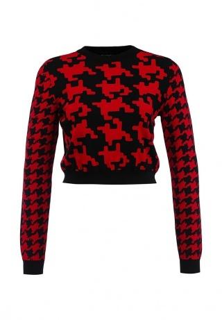 свитер гусинные лапки