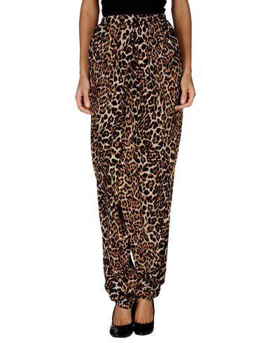 брюки с леопардовым принтом