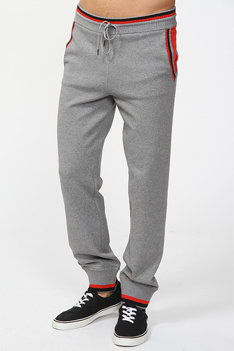 мужские спортивные брюки серые