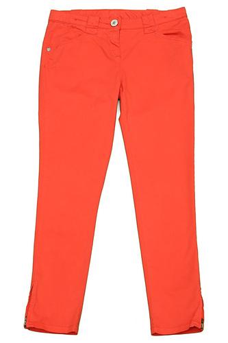 оранжевые брюки для девочек