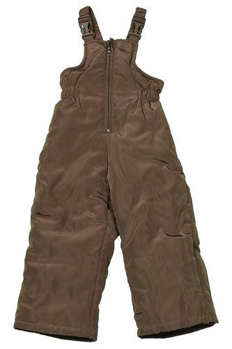 комбинезон для мальчиков зимний коричневый