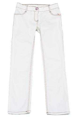 белые брюки дле девочек