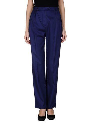 синие брюки женские