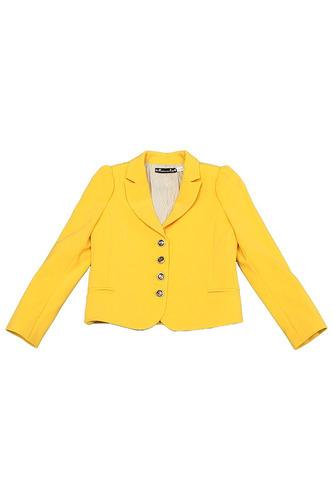 желтый жакет для девочек