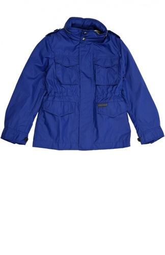 синяя курточка для девочек