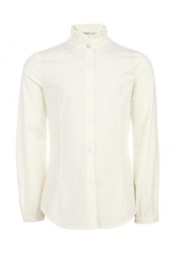 белая блузка для девочек