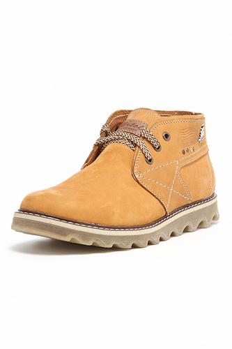 оранжевые мужские ботинки