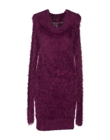 розовое теплое платье