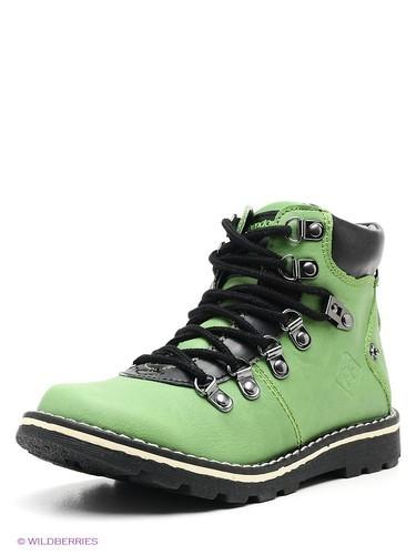 зеленые ботинки для мальчиков