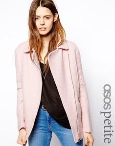 Пальто в байкерском стиле Asos