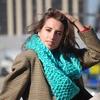 Как отличить шарф-снуд от горжетки и с чем их носить?