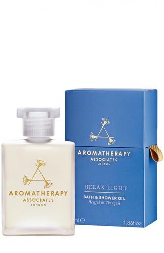 Расслабляющее масло для ванны и душа Relax Light Bath & Shower Oil Aromatherapy Associates
