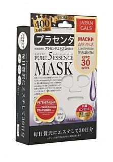 Набор масок с плацентой 30 шт. Japan Gals