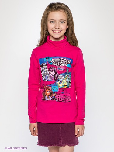 Водолазки Monster High