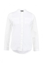 Блуза (SHIRTS) W белый Хлопок - 100% Topshop