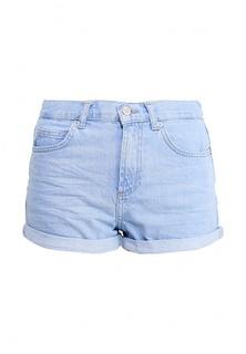 Шорты джинсовые (SHORTS) W синий Хлопок - 100% Topshop