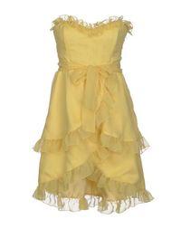 Короткое платье Pink BOW
