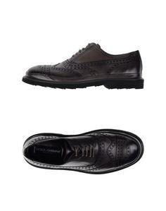Обувь на шнурках Dolce &Amp; Gabbana