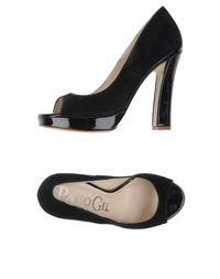Туфли с открытым носком Paco GIL