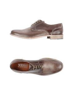 Обувь на шнурках Webb