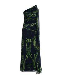 Длинное платье Halston Heritage