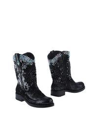 Черные Полусапоги и высокие ботинки Giancarlo Paoli
