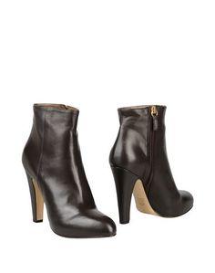 Коричневые Полусапоги и высокие ботинки 8