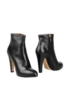 Черные Полусапоги и высокие ботинки 8