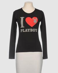 Футболка с длинными рукавами Playboy