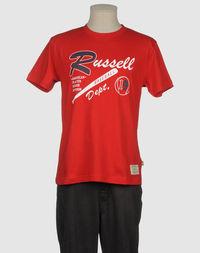Футболка с короткими рукавами Russell Athletic