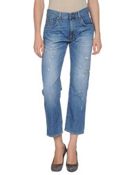 Джинсовые брюки-капри (+) People