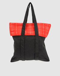 Большая сумка из текстиля Simona Tagliaferri