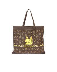 Большая сумка из текстиля Cappopera