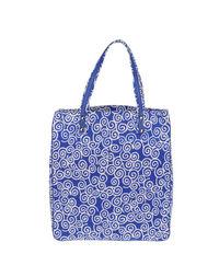 Большая сумка из текстиля Diane VON Furstenberg