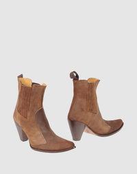 Коричневые Полусапоги и высокие ботинки John Bakery