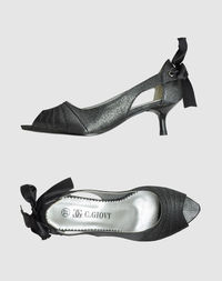 Туфли с открытым носком Giovy