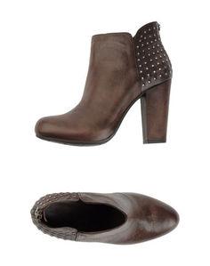 Коричневые Полусапоги и высокие ботинки Janet &Amp; Janet