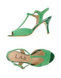 Босоножки на каблуке L.A.B