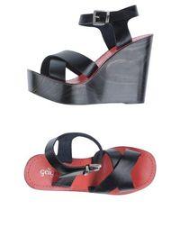 Обувь на танкетке GEI GEI