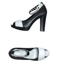 Туфли с открытым носком Evado
