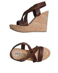 Обувь на танкетке Parentesi