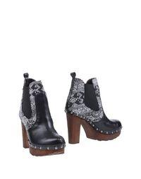 Черные Полусапоги и высокие ботинки G.J.L.