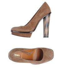 Туфли на платформе Fendi